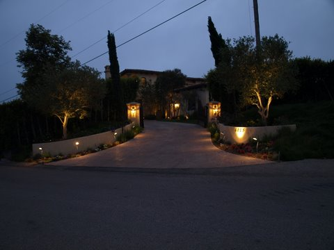 Hidden Hills Outdoor Lighting Fixtures